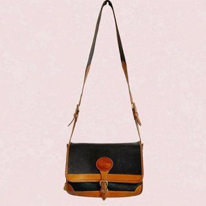 Vintage Dooney & Bourke two tone cross body bag